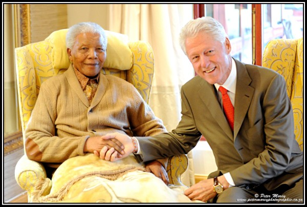 mandela-bill-clinton